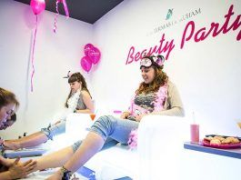 Fiestas de belleza o beauty party en Barcelona